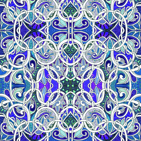 Paisley with a Twist fabric by edsel2084 on Spoonflower - custom fabric