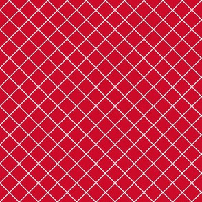 Gridlines Quilt Me! Red