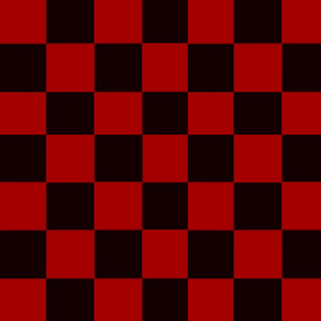 CHAPLIN RED & BLACK CHECKS