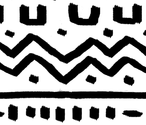 Ziggy Zaggy fabric by sonicribbon on Spoonflower - custom fabric