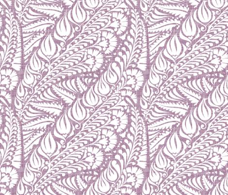 Blooming Dusty Rose fabric by spellstone on Spoonflower - custom fabric