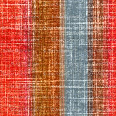 Linen Stripe in Pepper