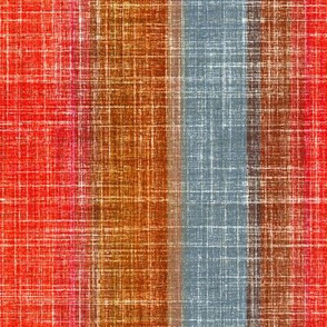 Linen Stripe in Pepper