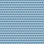 Seal of Rassilon - Blue on White - small