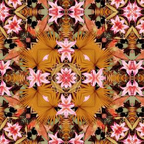 orange lily mix