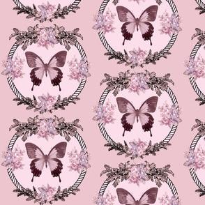 Boudoir Butterfly Blush Pink