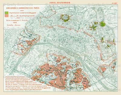 Plan paris 1908