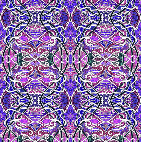 Purple Phase fabric by edsel2084 on Spoonflower - custom fabric