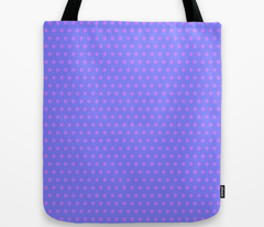 Purple Easter Dot on Blue