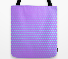 Cyan Easter Dot on Purple
