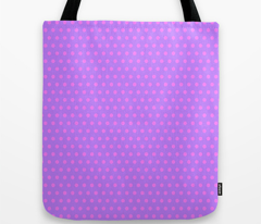 Magenta Easter Dot on Purple