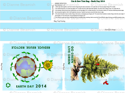 Earth Day 2014 Tote Bag