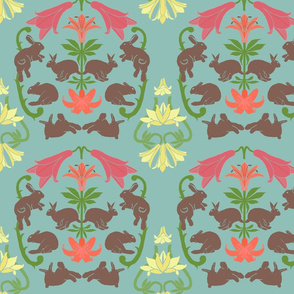 lily_and_rabbit_damask