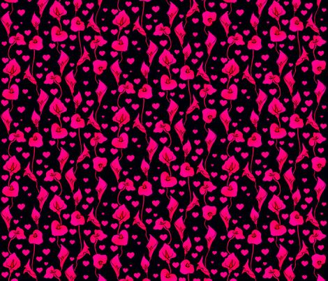 Neon Lily fabric by jadegordon on Spoonflower - custom fabric