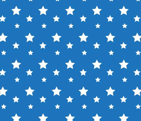 blue_stars-03 fabric by doris&fred on Spoonflower - custom fabric