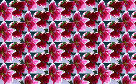 Lilies of beautiful Easter promise fabric by midnightmoon on Spoonflower - custom fabric