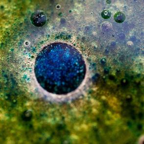 Blue/green bubbles