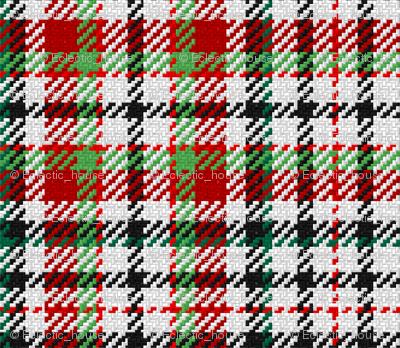 Red, Green, Black Plaid