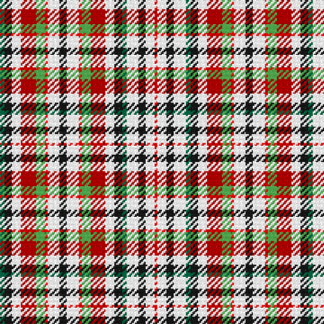 Red, Green, Black Plaid fabric by eclectic_house on Spoonflower - custom fabric