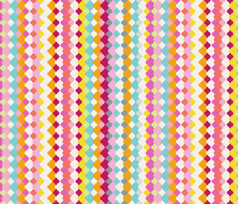 cumulus. sunny. fabric by emilycier on Spoonflower - custom fabric