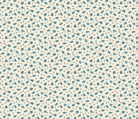 school hooha fabric by darcibeth on Spoonflower - custom fabric