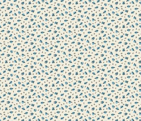 school ditz fabric by darcibeth on Spoonflower - custom fabric