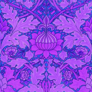 William Morris ~ Growing Damask ~ Twilight