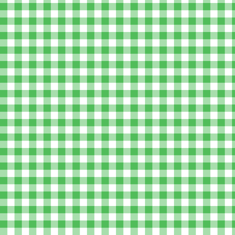 spearmint and white gingham fabric by weavingmajor on Spoonflower - custom fabric