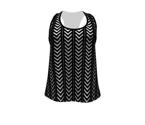 Chevron in black & white