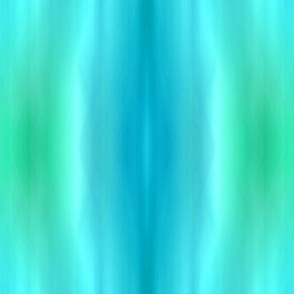 Blurred Leaves Blue Green  Drip dye