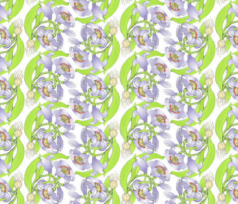Lily, O Lily! fabric by moirarae on Spoonflower - custom fabric