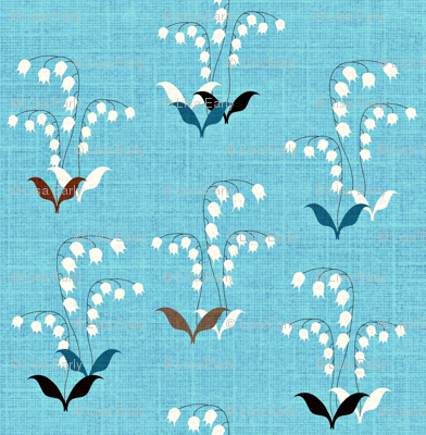 Lily of the Valley Scatter Petite