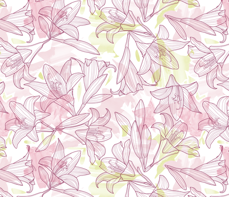 An explosion of Belladonna fabric by cjldesigns on Spoonflower - custom fabric