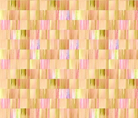 Pink and Beige Tiles  fabric by koalalady on Spoonflower - custom fabric