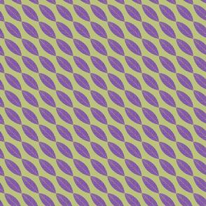 Leaves-Medium Size in Purple