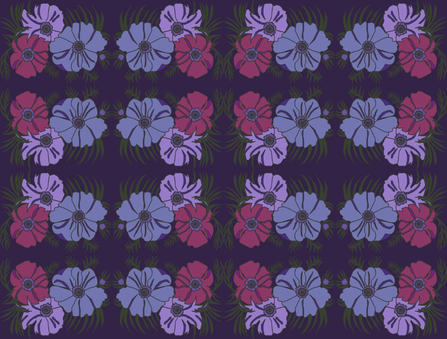 flowergroup2 fabric by snap-dragon on Spoonflower - custom fabric