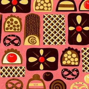 Assorted Confections Pink