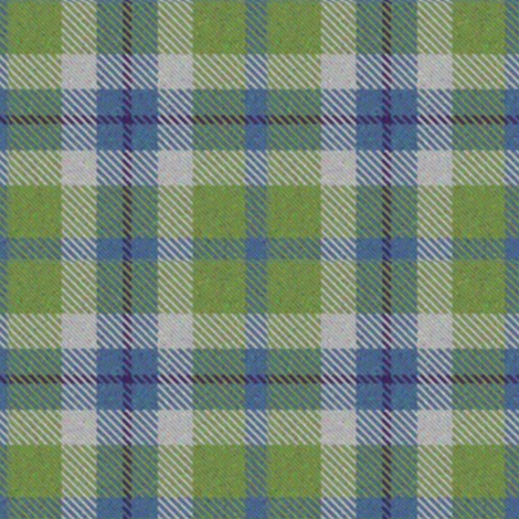 Blue and Green plaid fabric by eclectic_house on Spoonflower - custom fabric