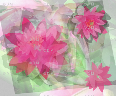 Water Lily Sublimation