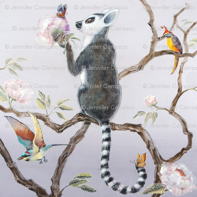 Lemur and Butterfly