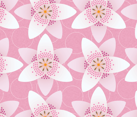 NewLily fabric by melhales on Spoonflower - custom fabric