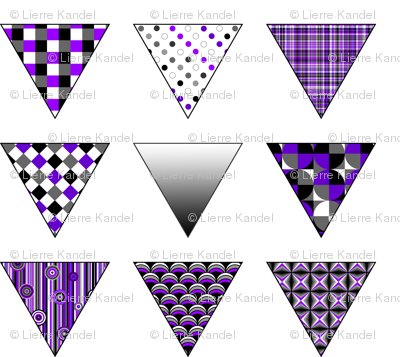 Ace - Patterned - Triangles