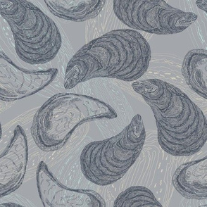 Totaig Mussels - Dark Grey