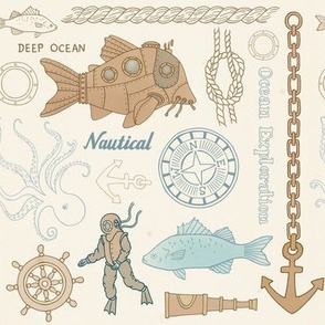 Steampunk Nautical