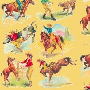 Cowboy Cowgirl Gold