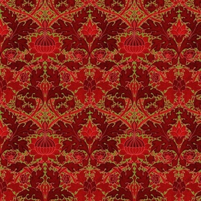 William Morris ~ Growing Damask ~ Christmas