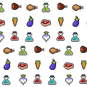 RPG Pixelated Items
