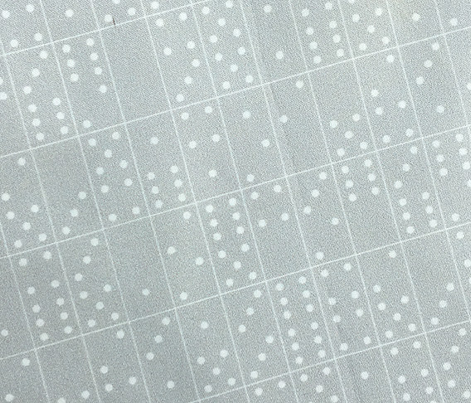 Domino Universe* (Silkscreen) || dominoes game geometric polka dots
