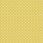 Wheelock (Gold) || star starburst cross geometric atomic diamonds mustard