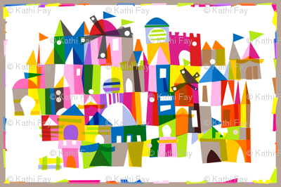Kingdom Color (a mary blair tribute)
